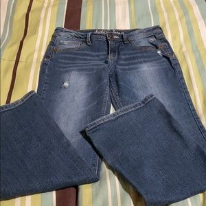 Girls Justice Jeans. EUC